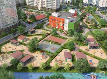 Детский сад на территории жилого комплекса